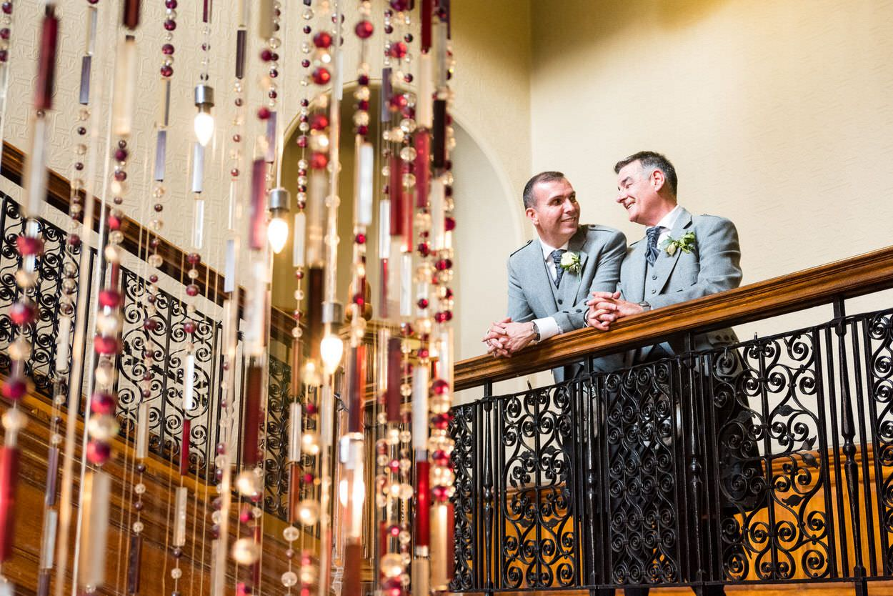 GLBT friendly same-sex weddings in Glasgow, Argyll & Scotland
