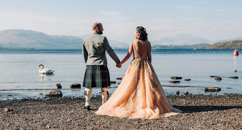Creative & Experienced Wedding Photography by Argyll Photographer Ian Arthur