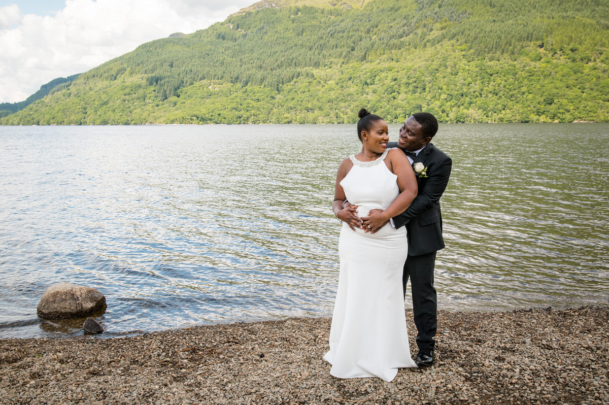 Lodge on the Loch Wedding Photography – Shamiso and Irvin