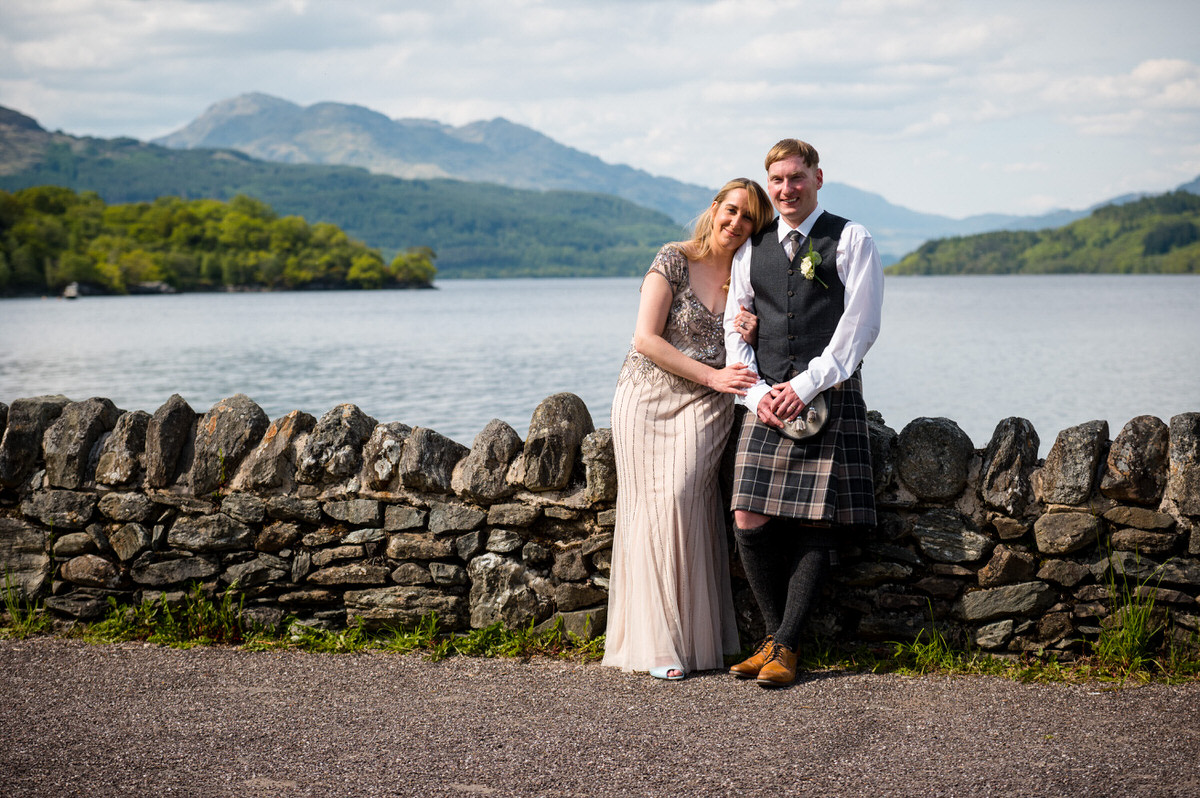 Lodge on Loch Lomond Wedding Photography – Karen & Stuart